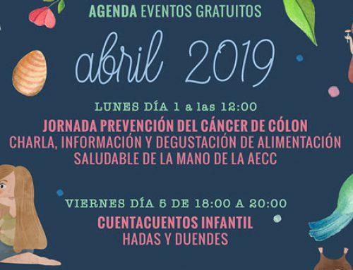 AGENDA DE EVENTOS DE ABRIL