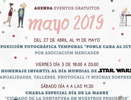 AGENDA DE EVENTOS DE MAYO