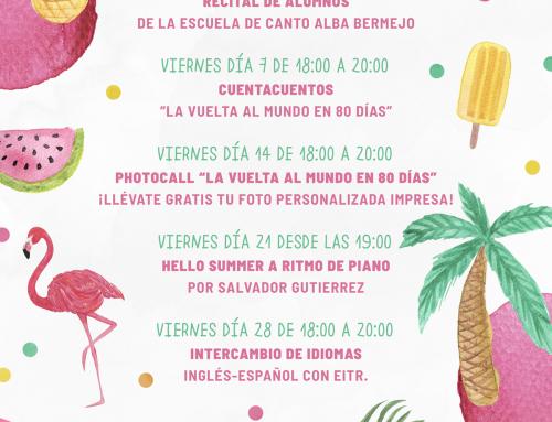 AGENDA EVENTOS DE JUNIO