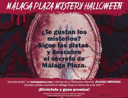 ¡Ven a disfrutar de Málaga Plaza Mistery Halloween!